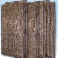 Natural acacia panel - set of ten