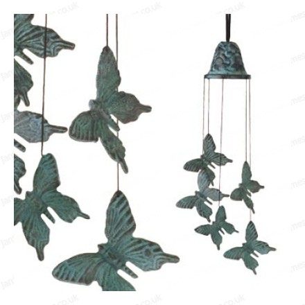 Bronze Chime Butterfly
