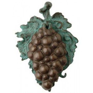 Bronze Grape Door knocker