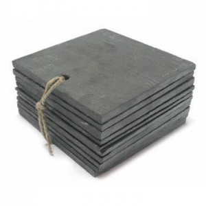 Slate labels 95x95mm pack of 10