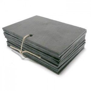Slate labels 160x120mm pack of 10