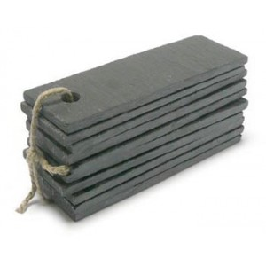 Slate labels 30x100mm pack of 10