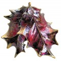 Double Holly leaf - Copper Iridescent