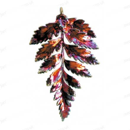 Fern leaf - Copper Iridescent