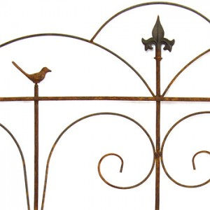 Classical steel border