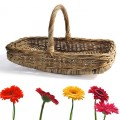Flower picking basket