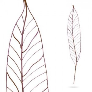 Arbour Leaf untreated steel x3 Pack