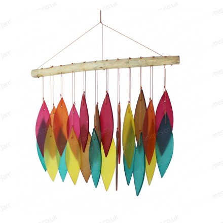 Glass Wind chime - Assorted colours