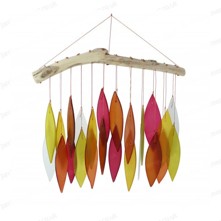 Glass Wind chime - Sunset