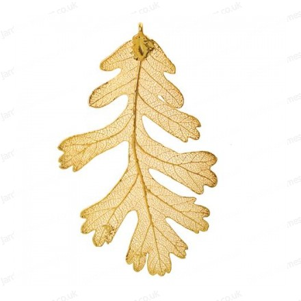 Lacy Oak - 24 karat Gold