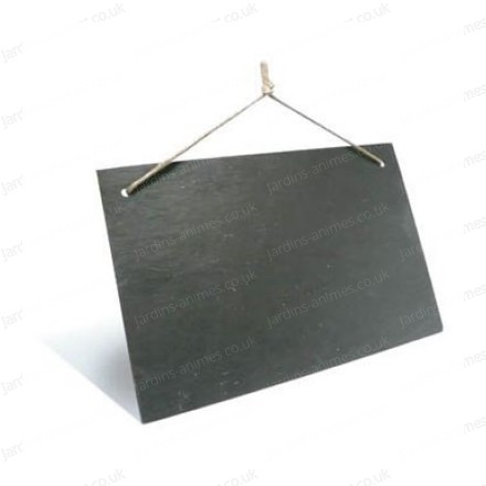 Large suspended slate 300x200mm pack of 3