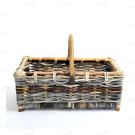 Low-sided harvest basket