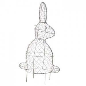 Rabbit topiary frame