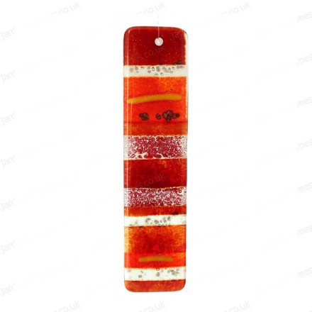 Glass Ribbon - Red