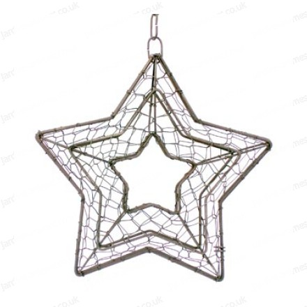 Star decorative frame