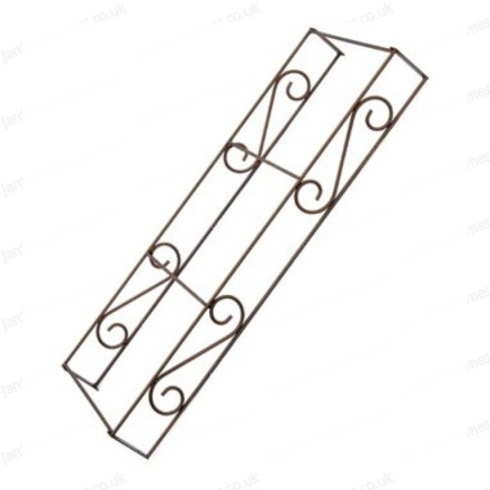 Steel frame straight sections