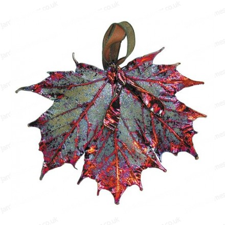 Sugar Maple with seed - Copper Iridescent