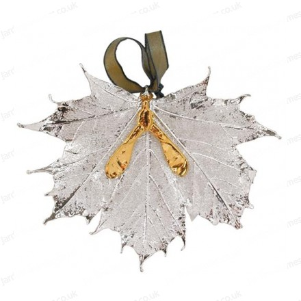 Sugar Maple with seed - Silver