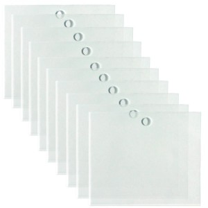 Transparent labels 120x100mm X10
