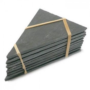 Triangular slate labels 75x105mm pack of 10
