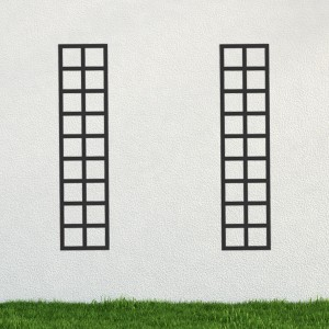 Trompe l'oeil - set of 2 upright panels