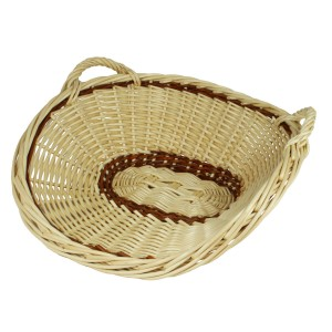 Wicker presentation basket